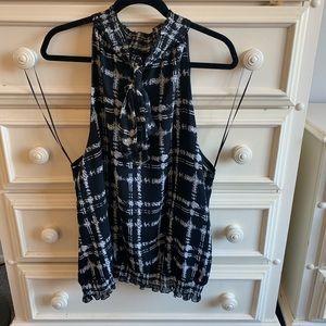 Black/white Alfani size 24 dress shell